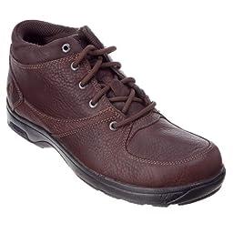 Dunham  Men\'s Addison Mid Cut Waterproof Boot,Brown,10 D (M)
