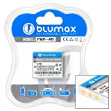 Blumax ® Fuji NP-40 NP40 NP 40 Battery for FinePix F420 Zoom, F470 Zoom, F480 Zoom, F610, F650 Zoom, F700, F710, F810 Zoom, FinePix J50, FinePix V10 Zoom, FinePix Z1, Z2
