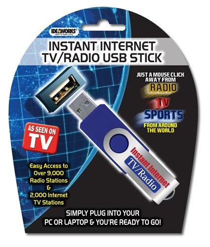 Check Out This Ideaworks Internet TV Radio USB Stick