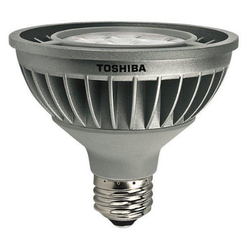 Toshiba 16P30S/827SP8 &#8211; 15.6 Watt &#8211; Dimmable LED &#8211; PAR30 &#8211; Short Neck &#8211; 2700K Warm White &#8211; Narrow Spot &#8211; 12500 Candlepower &#8211; 70 Watt Equal