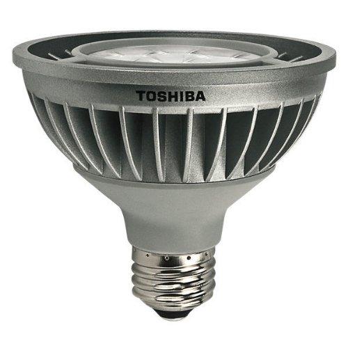 Toshiba 16P30S/827Sp8 - 15.6 Watt - Dimmable Led - Par30 - Short Neck - 2700K Warm White - Narrow Spot - 12500 Candlepower - 70 Watt Equal