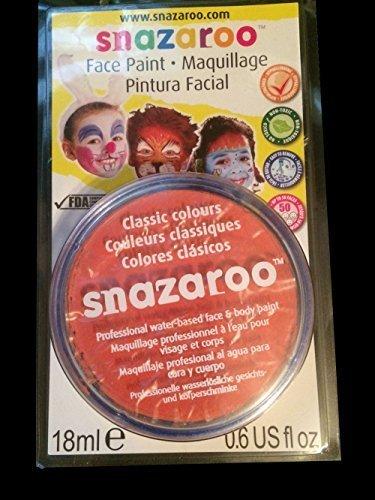 Reeves Snazaroo Face Paint, 18ml, Orange - 1