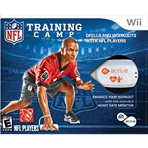 NFL Training Camp for Wii
