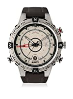 TIMEX Reloj de cuarzo Man Intelligent Tide Temp Compass Marrón 45 mm