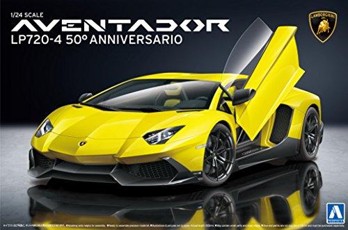 1/24 Super Car Series No.17 Lamborghini Aventador LP720-4 50 Anibasario edition (Lamborghini Model Car Kit compare prices)