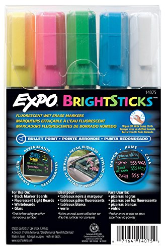 sanford-wet-bright-sticks-wet-erase-fluorescent-markers-assorted-fluorescent-colors-5-pack-14075