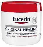 Eucerin Original Healing Rich Creme 16 Ounce (Pack of 2)
