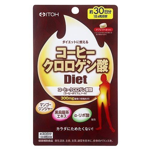 井藤 コーヒークロロゲン酸ダイエット 120粒