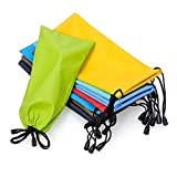 Sunglasses Eyeglasses Glas ses Soft Cloth Drawstring Cleaning Case Pouch Bag