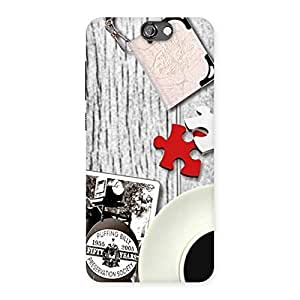 Enticing Vintage Multicolor Style Back Case Cover for HTC One A9