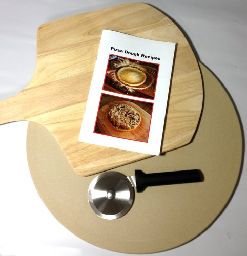 Recipe For Pizza Dough Pizza Makers Gift Pack Bundle Pizza Stone Pizza Cutter Pizza Peel