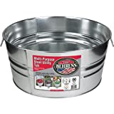 Behrens 2GS 15 Gallon Round Galvanized Steel Tub