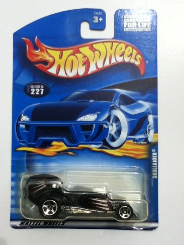 Hot Wheels Skullrider 2000 227 Side Bannar Variant Card