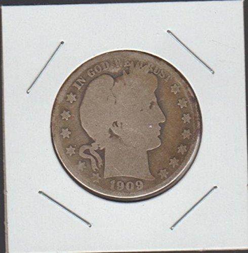 1909 O Barber Half Dollar About Good