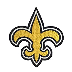 Orleans Saints Logo I Embroidered Iron Patches