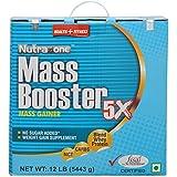Nutrazione Mass Booster Powder- 12 LB, Chocolate