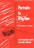 img - for Portraits in Rhythm: 50 Studies for Snare Drum book / textbook / text book