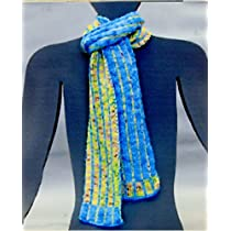 Artyarns Regal Silk Striped Scarf (P70)