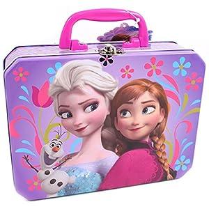 Disney Frozen Embossed Lunch Box Pink