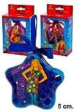 3 bolas de Navidad de Disney Hannah Montana 8cm