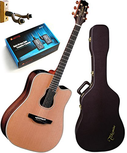 Takamine Gb7C Garth Brooks Acoustic-Electric Guitar With Case, Guitar Wireless, And Wall Hanger