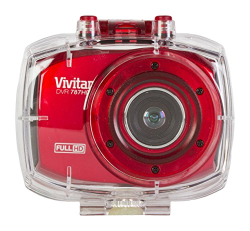 Vivitar DVR786HD Full HD Action Camera with Touch Screen, Co