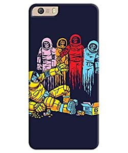 Back Cover for Micromax Canvas Knight 2 4G E471