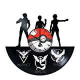 Pokemon Go Gameboy Vinyl Record Wall Clock - Get unique bedroom wall decor - Gift ideas for kids,teens, baby - Game Unique Art Design - Leave us a feedback and win your custom clock