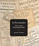 To Put Asunder / The Laws of Matrimonial Strife