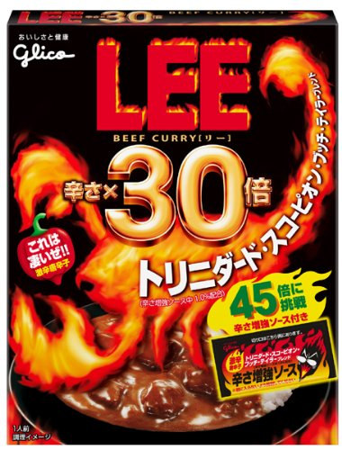 江崎グリコ ビーフカレー LEE (辛さ×30倍) 202g×10個