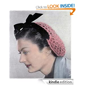 Love Knot Snood Vintage Crochet Pattern EBook Download The Crochet Kid