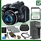 Canon PowerShot SX50 HS Digital Camera + 64GB Green's Camera Package 4