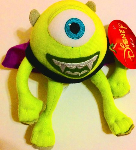 Mike Wachowski Halloween Vampire Dracula Disney Pixar Monsters University Plush