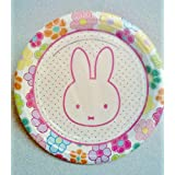 "Miffy / Nijntje Bunny Rabbit Birthday Party 7"" Dessert Plates ~ 12 Count"