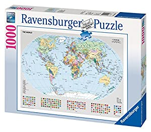 Ravensburger Puzzle - Political World Map (1000 pieces)