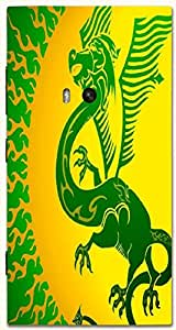 Amazing multicolor printed protective REBEL mobile back cover for Nokia Lumia 920 D.No.N-T-5123-N920