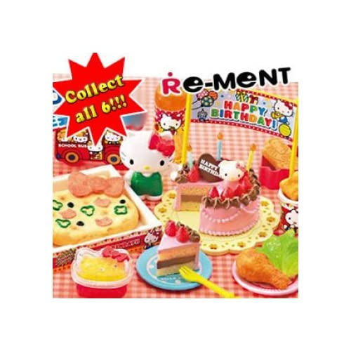 Re Ment Sanrio Hello Kitty Happy Birthday Petite Figures
