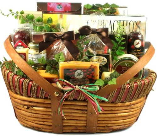 Dad's Favorites, Cheese And Sausage Gift Basket