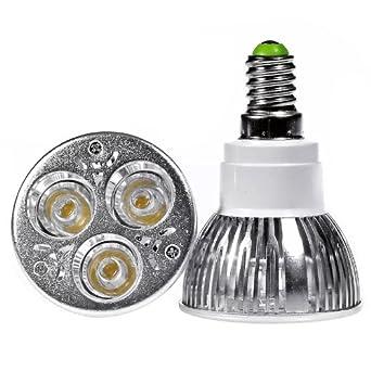4 x xe cree xe cree e14 3 3 9w led ampoule de spot blanc blanc froid luminaires et. Black Bedroom Furniture Sets. Home Design Ideas