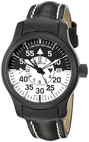 Fortis-Mens-6721811-L-B-42-Flieger-Black-Cockpit-Watch