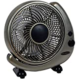 """Soleus FT-25-A Table or Wall Oscillating Fan, 10"""""""