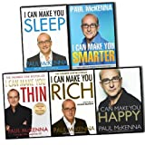 Paul McKenna I Can Make You 5 Books Collection Pack Set RRP: �54.95 (Happy, Rich, Sleep, Smarter, Thin)by Paul McKenna