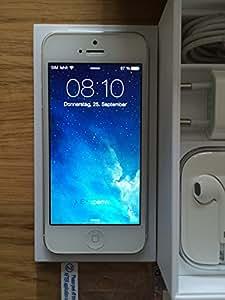 iPhone 5 64go blanc / argent