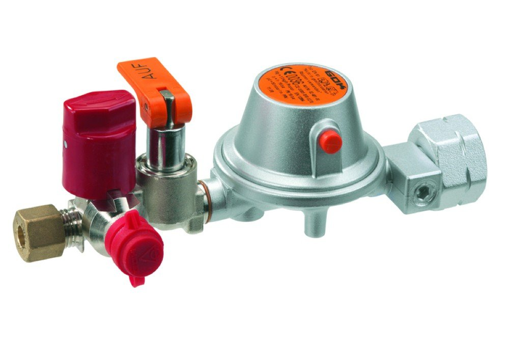 GOK Gasregler 61-F 1kg/h 50mbar PS16bar RVS8 x SKU x RVS8 PRV günstig bestellen
