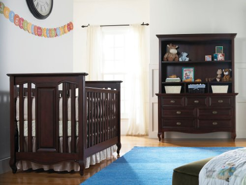 Babi Italia Mayfair Island Crib, Blackberry (Discontinued by Manufacturer) - 1