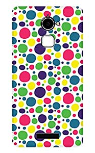 Latest Designer New Back Case for Coolpad Note 3 Lite (Green and White) By PLESPEY