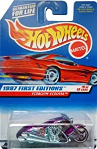 Hot Wheels by Mattel Scorchin' Scooter #9 of 12 - Purple