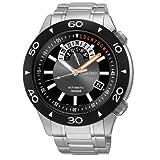 Seiko Superior Black Watch SSA183K1 (Color: Silver)