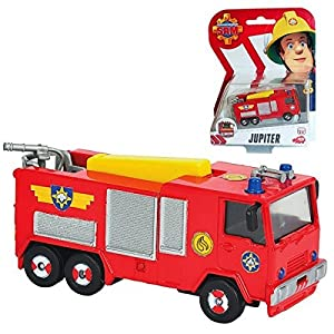 Fireman Sam - The Cast mini series vehicle - Fire Engine Jupiter