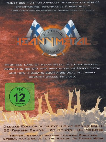 Promised land of heavy metal (deluxe edition) (+CD)